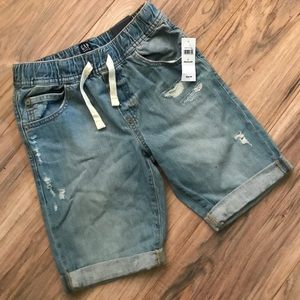 Gap kids denim shorts